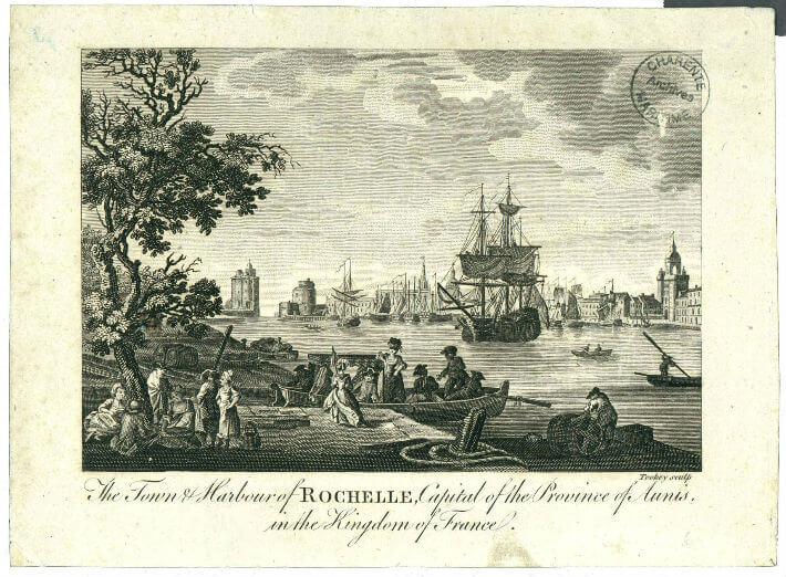 Le port de La Rochelle à la fin du XVIIIe siècle
