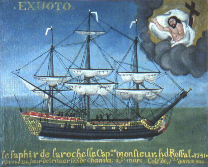 Le navire négrier Le Saphir