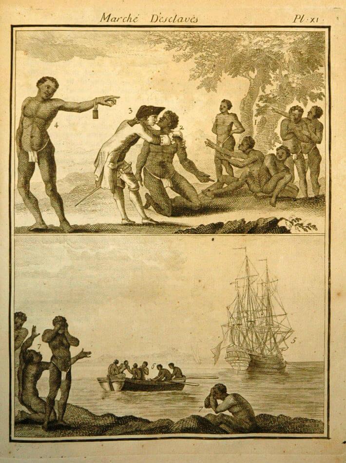 Marché d'esclaves