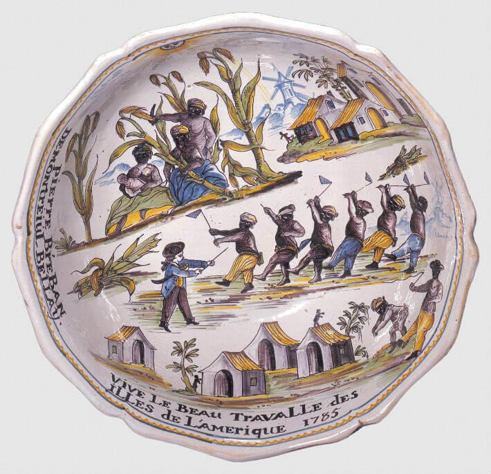 Vision du travail des Noirs dans les plantations