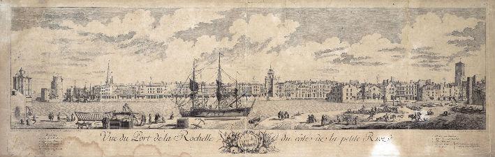 Le port de la Rochelle vu du côté de la Petite Rive