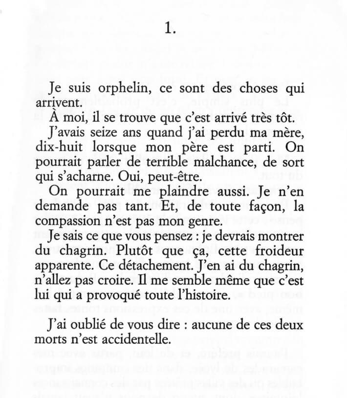 Philippe Besson - La maison atlantique - Editions Juillard - 1
