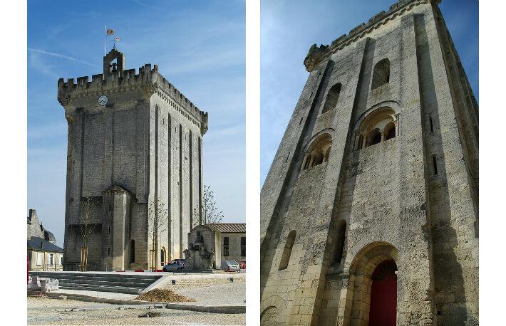Donjon de Pons, tour de l'ancien château - 2010