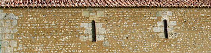 Église Notre-Dame de Monthérault - Nef du premier art roman - 2014