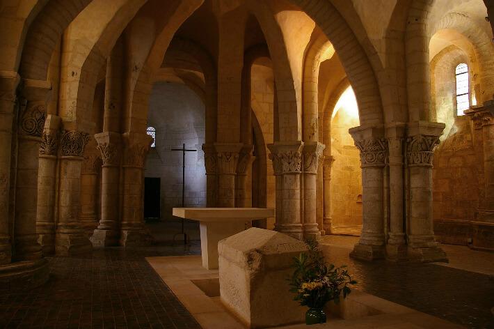 Église Saint-Europe de Saintes - Vue sur la châsse (reliquaire) - 2006