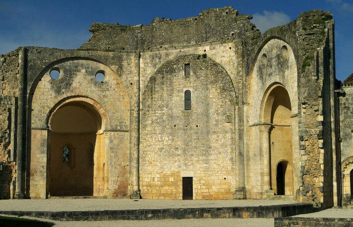 Église Saint-Jean-l'Evangéliste de Trizay - Plan octogonal - 2016