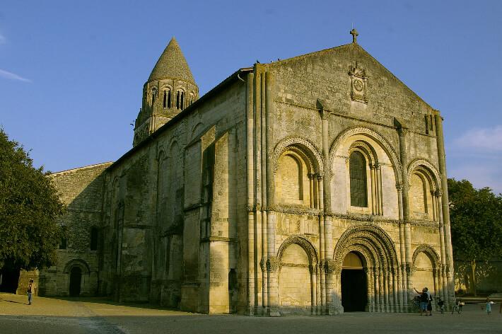 Abbatiale Notre-Dame de Saintes - 2007