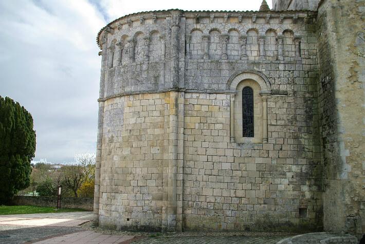 Église Saint-Etienne de Vaux-sur-Mer - Chevet - 2010