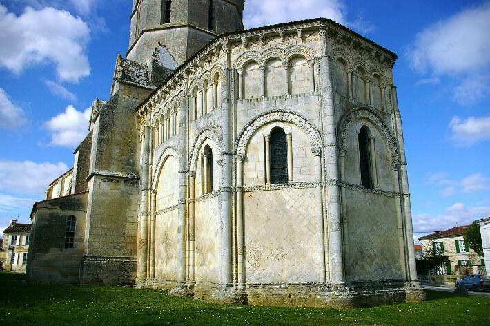 Église Saint-Trojan de Rétaud -  Chevet - 2007