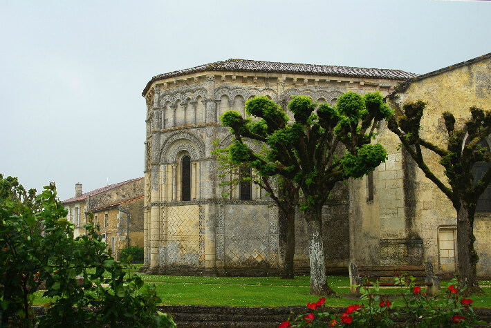 Église Notre-Dame de Rioux - Chevet - 2016