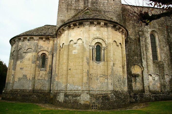 Église Saint-Sulpice de Marignac - Chevet - 2007