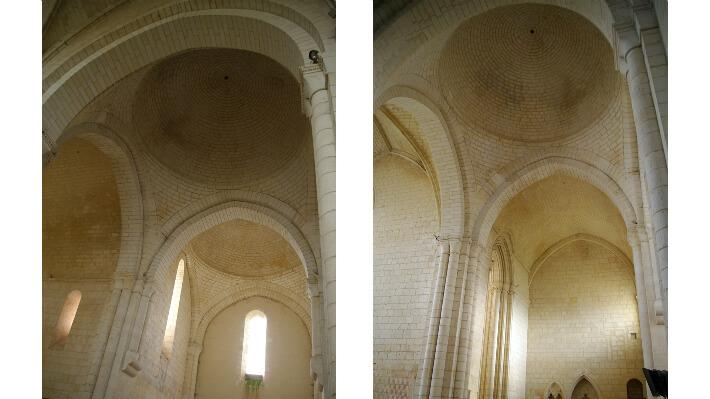 Église Notre-Dame de Sablonceaux - Voûtes - 2009
