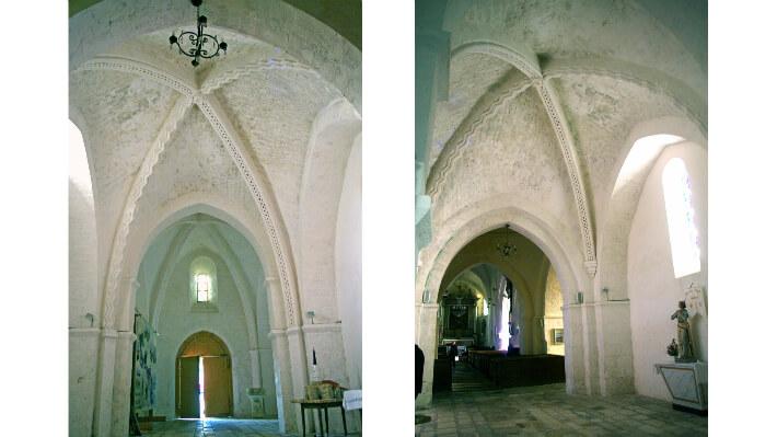 Église Saint-Martin d'Ars-en-Ré - Voûtes d'ogives de la nef - 2016