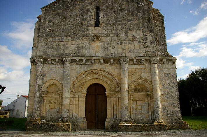 Église Saint-Trojan de Rétaud - 2007