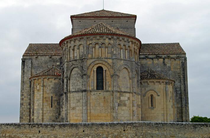 Église Sainte-Radegonde de Talmont - Chapelles absidiales du transept - 2009
