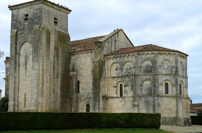 Église Sainte-Madeleine de Beurlay - Clocher latéral - 2010