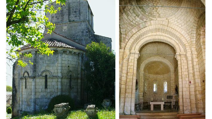 Église Saint-André d'Annepont - Extérieur et Intérieur du chevet - 2014