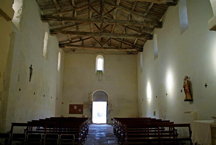 Église Sainte Radegonde - Nef charpentée - 2009