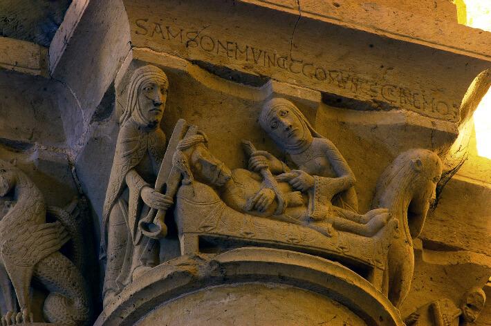 Église Saint-Pierre d'Aulnay - Samson et Dalila - 2008