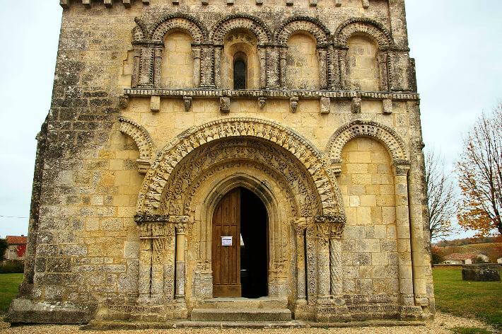 Église Notre-Dame d'Avy-en-Pons - Façade occidentale - 2007