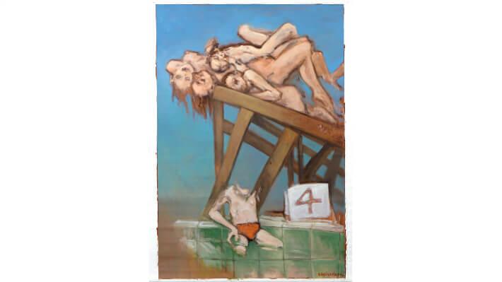 L'Été - Huile sur toile // 130 x 200 cm