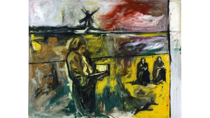Requiem - Huile sur toile // 160 x 124 cm