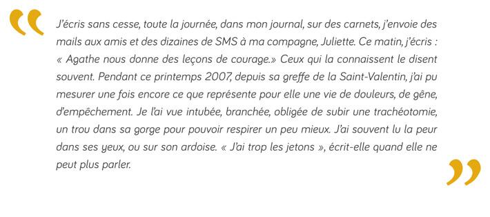 Extrait du livre : L'été d'Agathe - Didier Pourquery