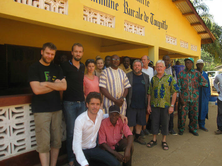 Rencontre avec les autorités de Tougnifily, Guinée - © Jean-Claude Perrinaud - 2017