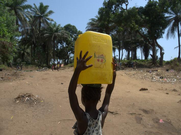 Accès à l'eau potable, Guinée - © Pierrot Men - 2017