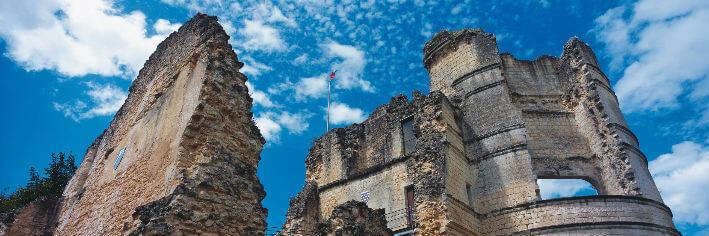 Montguyon – Château médiéval – XIIe siècle