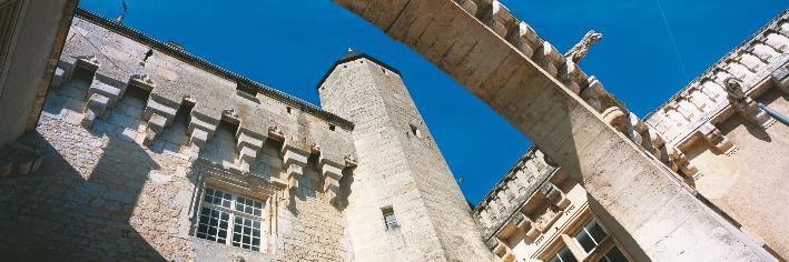 Jonzac – Château – XIIe / XVe siècle