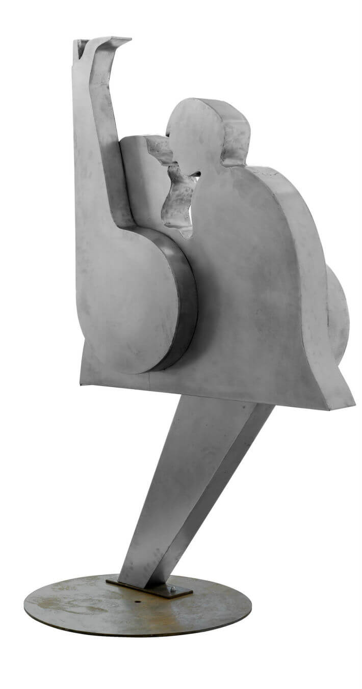 PDM 2012 - sculpture - Amour - Alain GUILLET