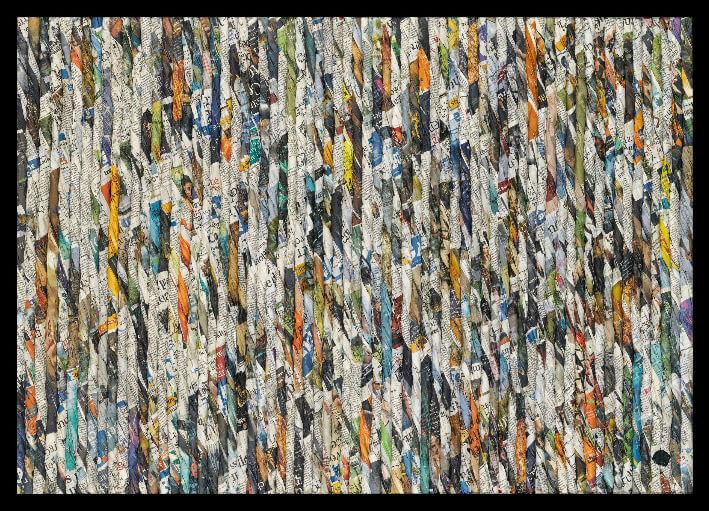 PDM 2012 - Lauréat - Véronique BÉLANGER - Cordages - 2e Prix de peinture