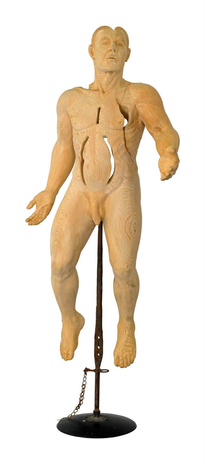 PDM 2012 - sculpture -  Homme inachevé - Jean-Charles FERRAND
