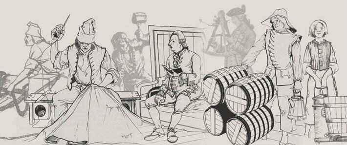 Les équipages de la traite