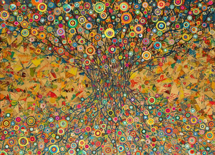 Brigitte REBOUX - L'arbre de vie - PDM 2013