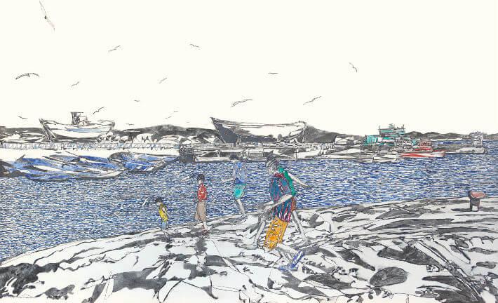 Jean-Philippe ASENCIO - Les enfants du port - PDM 2013