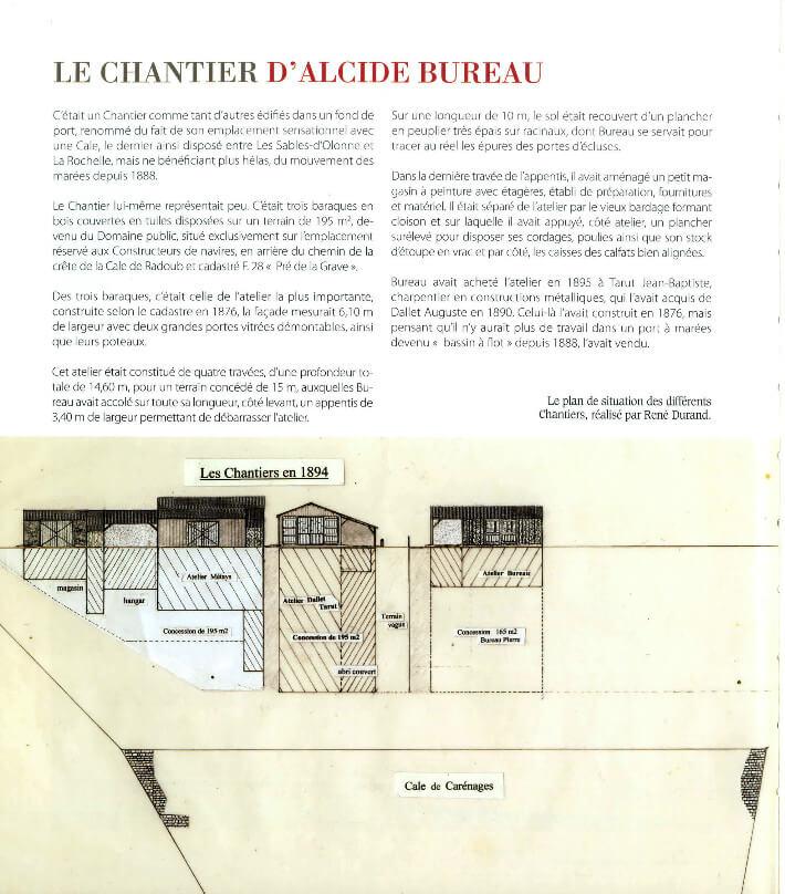 René DURAND - Daniel BOURDU - Guy BARDOT - Quatre générations de charpentiers de bateaux - p212 - PDM 2013