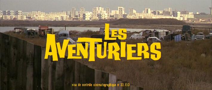 Film Les Aventuriers de Robert Enrico, 1967 - Extrait du générique