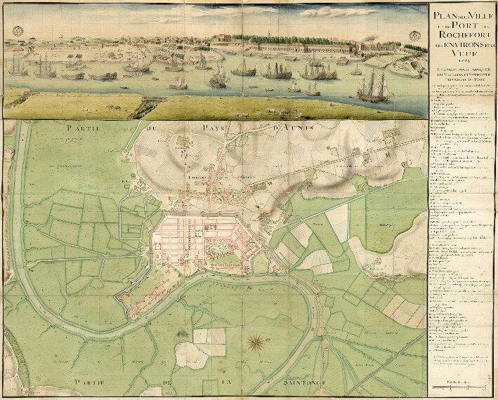 Rochefort en 1724 comme si vous y étiez