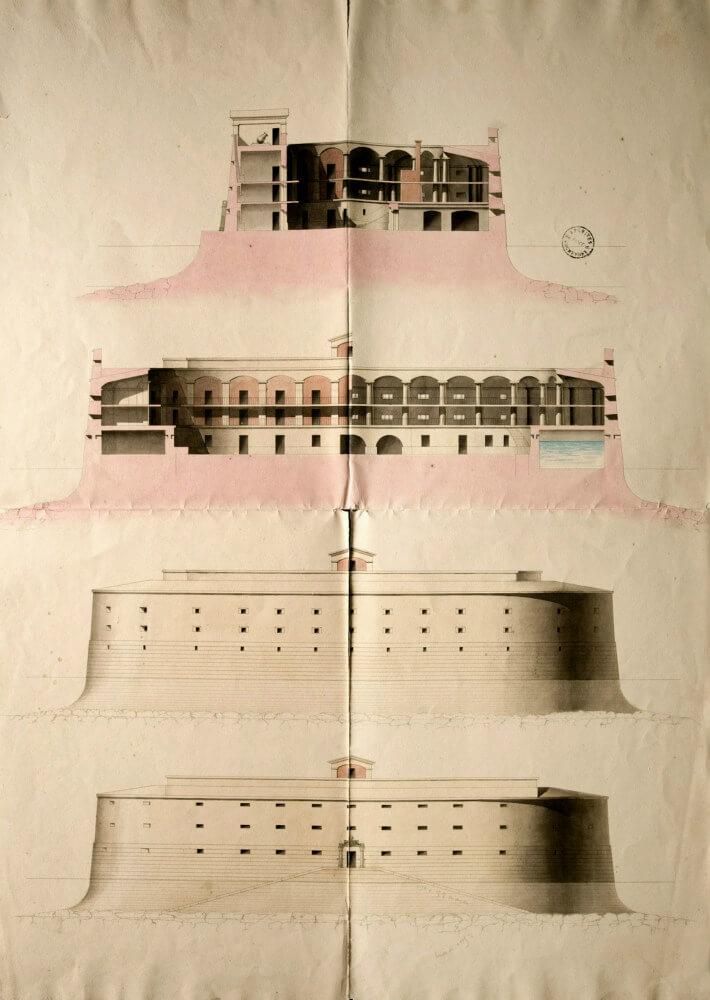 Boyard année 0: le premier projet - plan 1802