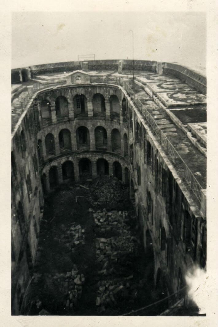 Boyard après-guerre : vue intérieure.