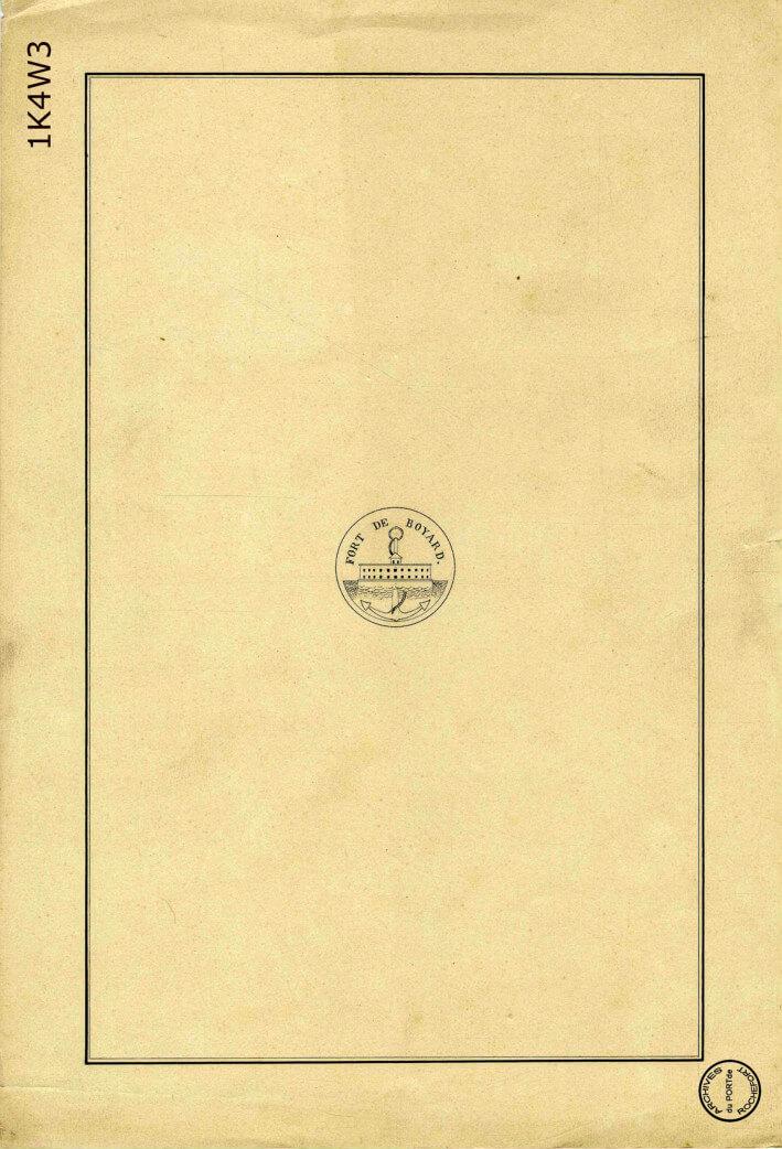 Le film de la construction - Planches de 1860. - 1.Page de garde