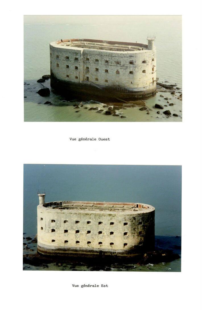 Etat des lieux du Fort en 1989 avant les travaux - Dossier SEMDAS - 2/6