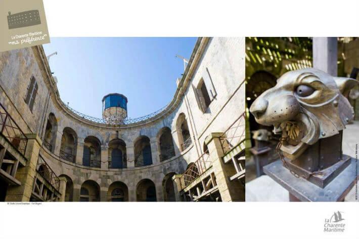 Boyard, support d'image touristique