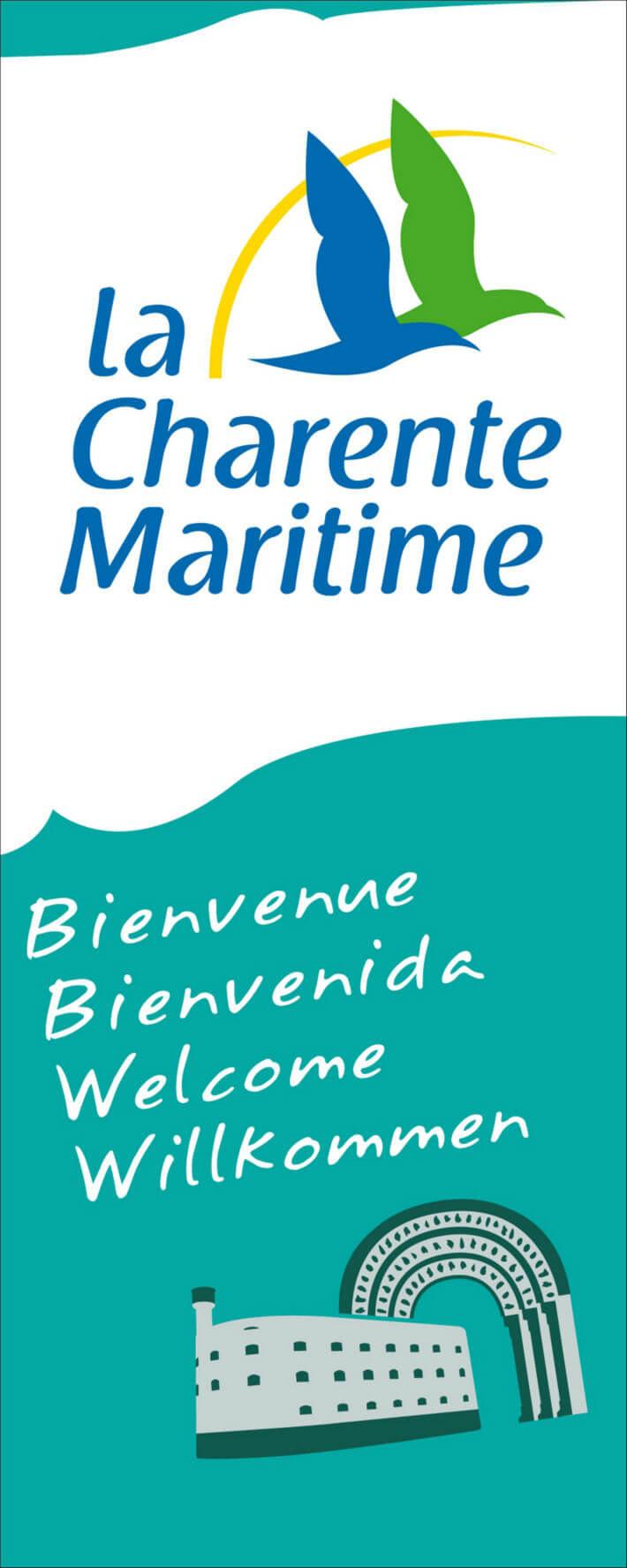 Totem du Département de la Charente-Maritime