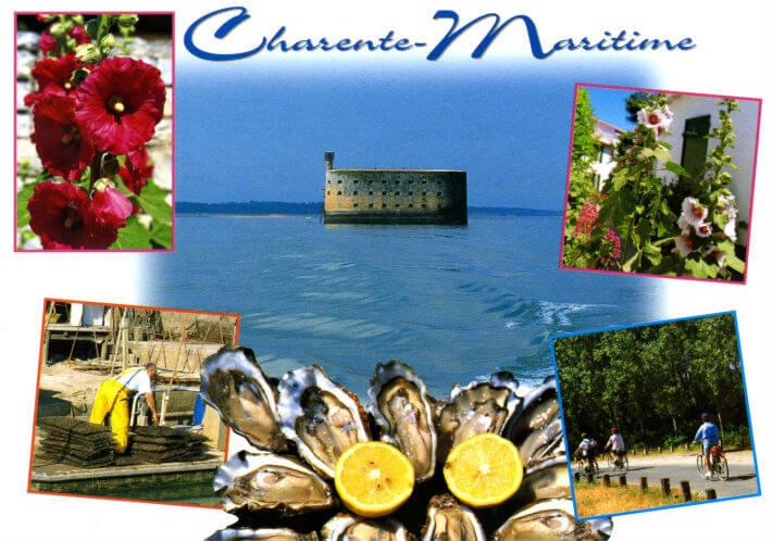 Carte postale « Charente-Maritime »