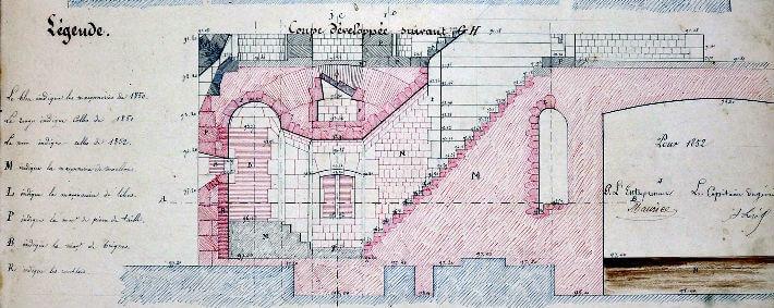 Boyard sous toutes ses coutures - Plan 1850 - 1852