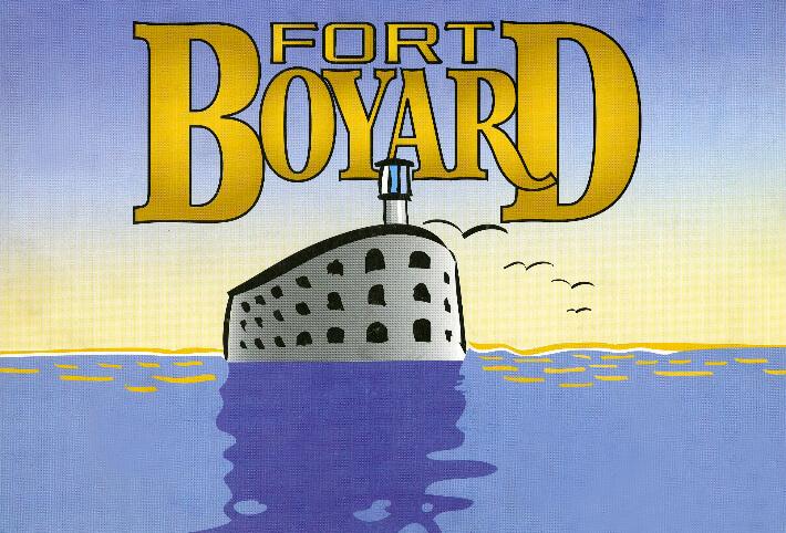 Visuel publicitaire du jeu Fort Boyard