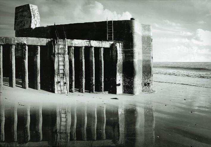 Débarcadère de Sablanceaux -  Impression numérique sur papier fine art, 100 x 70 cm